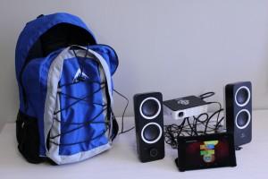 Cinema-in-a-backpack